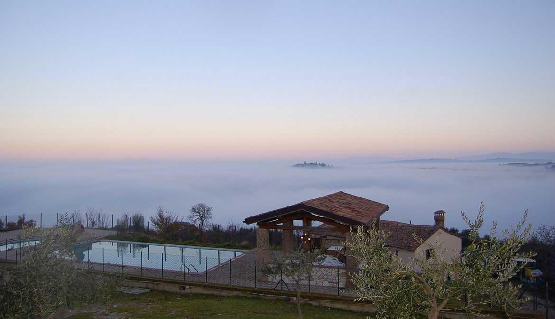 Panorama da Olivastrella